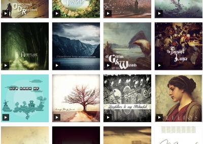 Bandcamp Album Gallery WordPress Plugin